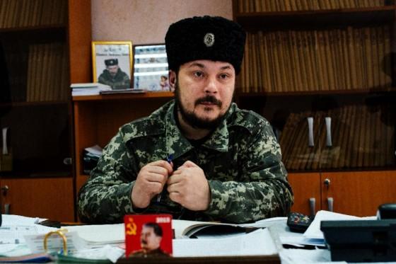 Vasil Kiseliev, deputy mayor of the eastern Ukrainian town of Stakhanov
