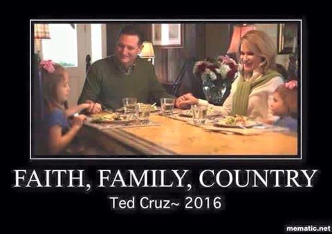 Ted Cruz Thanksgiving