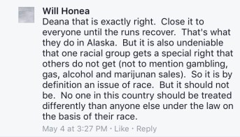 honea comment that is exactly right