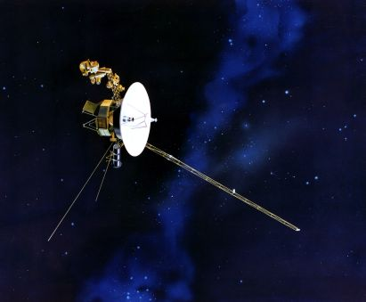 Voyager I. Fuente: Wikimedia Commons