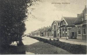 Achterweg, later Dorpsstraat