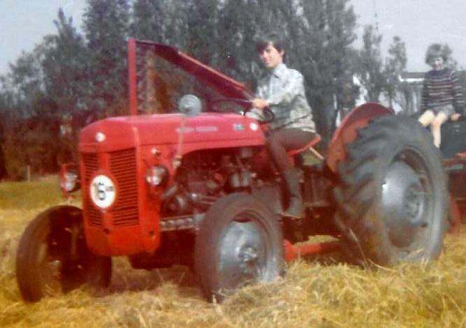 Tractor - Massey Ferguson 35