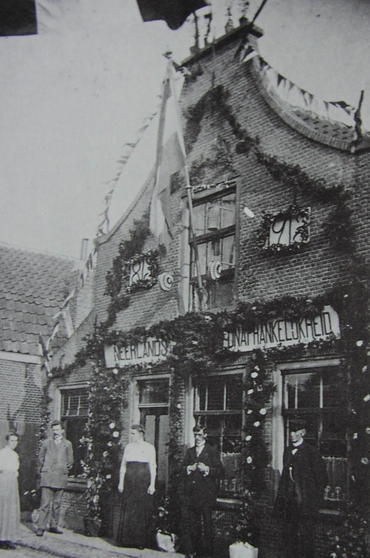 Dorpsstraat 22 in 1913