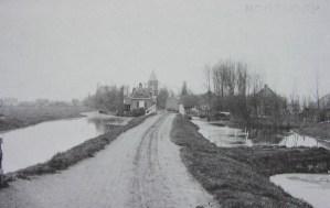 Achterweg in 1907
