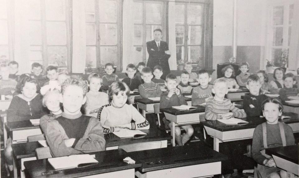 Klassenfoto 1958