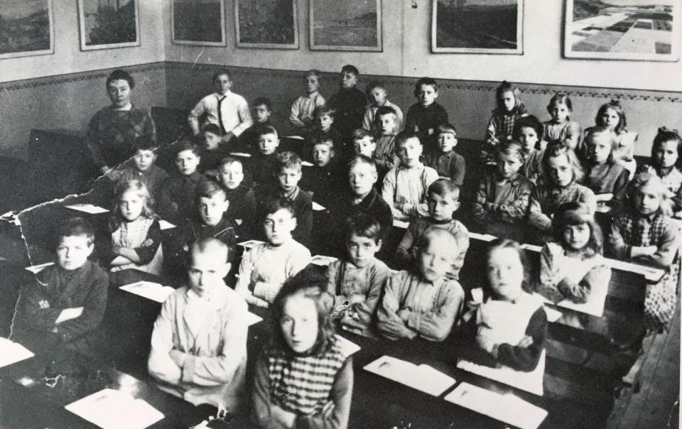 Klassenfoto 1927
