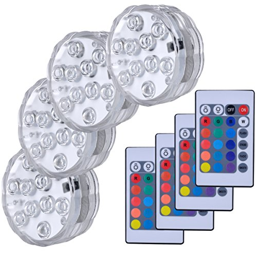 Remote Light Control Battery Operated Bulb