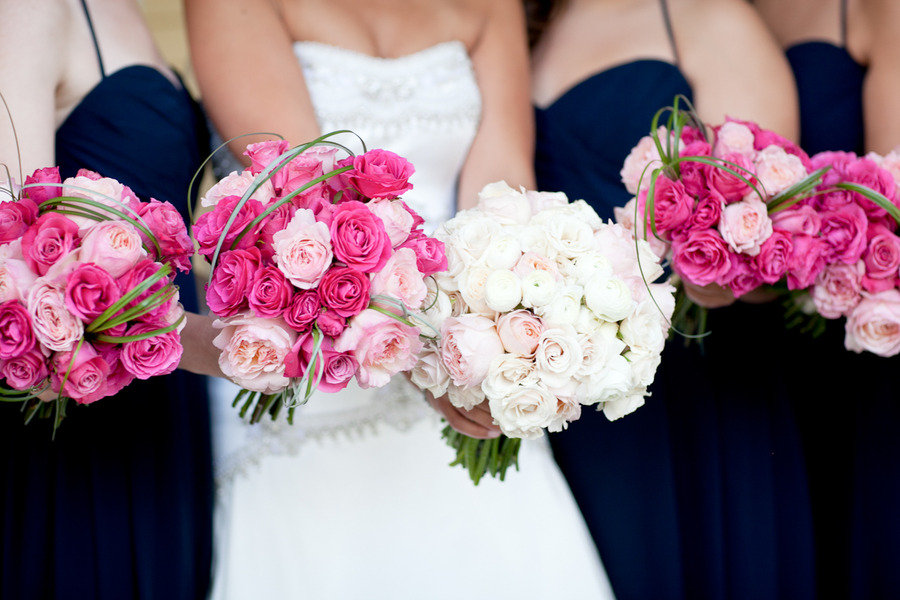 Beautiful Pink Bridal Bouquets