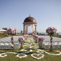 Casamento lilás e dourado