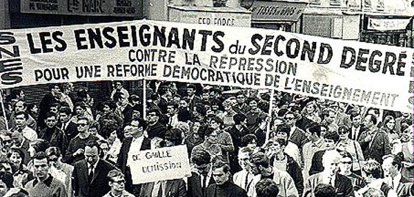 Resultado de imagem para maio 68 em paris