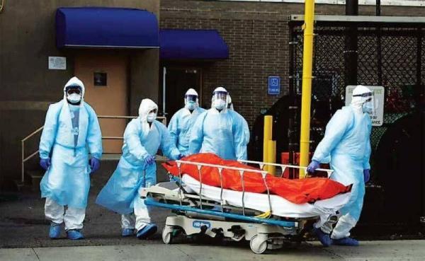 کرونا در آمریکا؛ رکورد بیش از 1300 مرگ و میر در یک روز ...