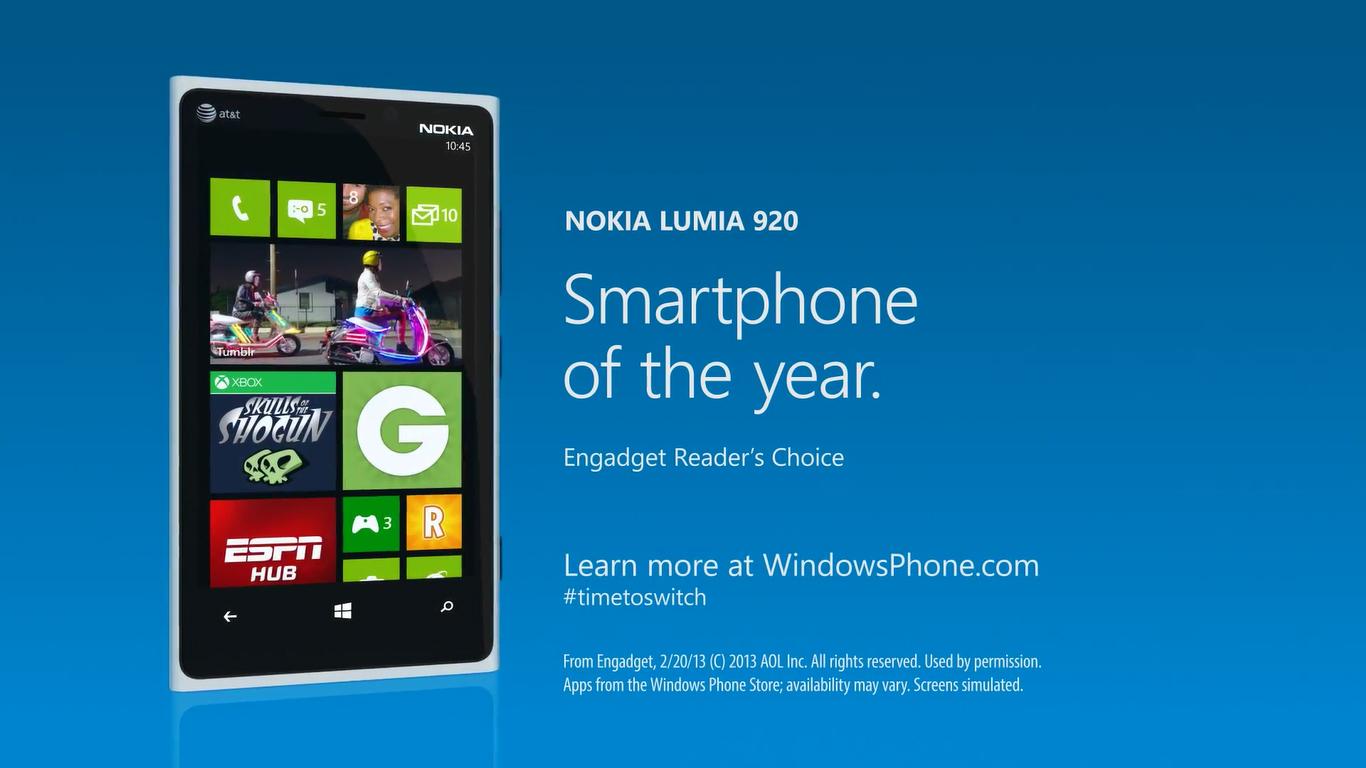 Video: Switch to the Windows Phone Nokia Lumia 920