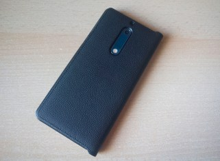 Nokia 5 case mozo leather black back