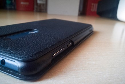 Nokia 5 case mozo leather black side