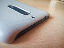 Nokia 5 mozo case sand grey top camera