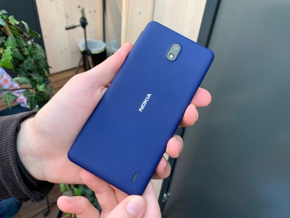 Nokia 1 Plus wide back