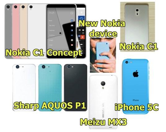 Nokia comparison