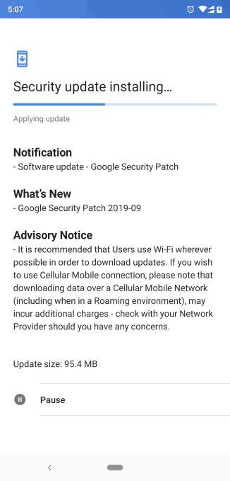 Nokia 8.1 Seotember patch Pramod