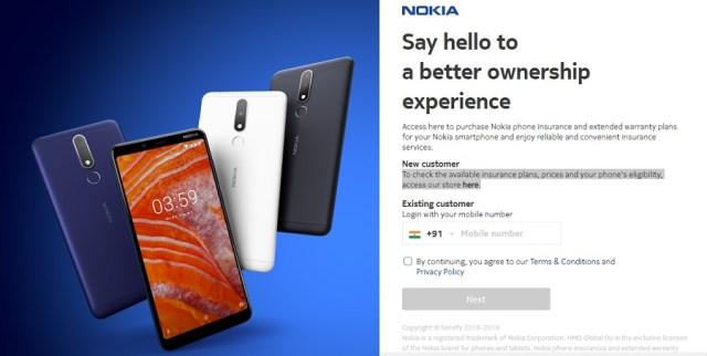 Nokia Mobile Insurance
