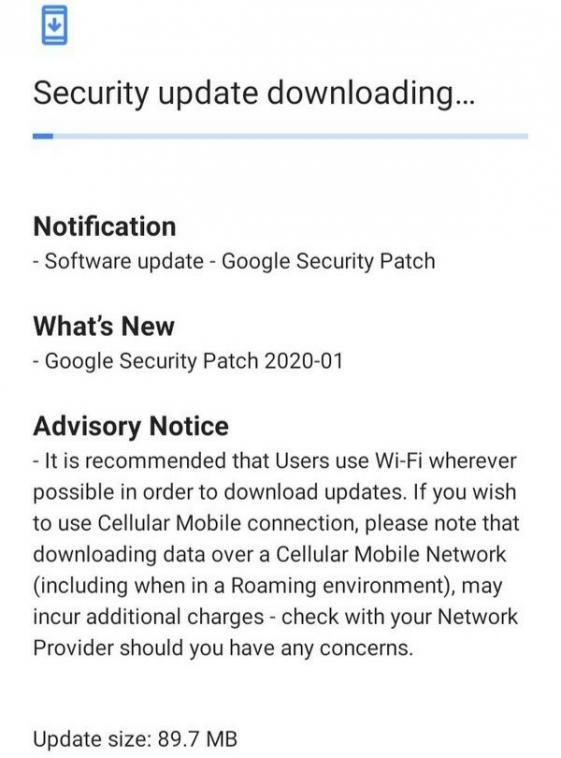 Januárová bezpečnostná oprava sa zobrazuje pre Nokia 3,1 Plus 2