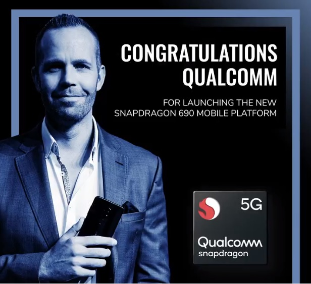 The Snapdragon 690 is the first 600-series 5G chipset
