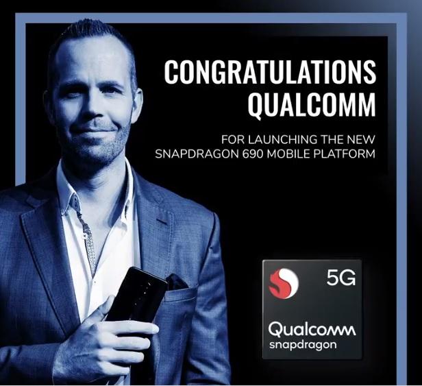 Qualcomm Releases Snapdragon 690 SoC For Budget 5G Smartphones