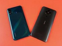 Nokia 5.3 vs Huawei Y8s