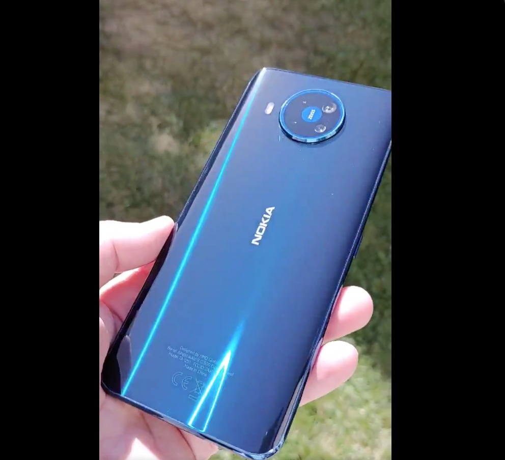 Video: First glimps on a real life Nokia 8.3 5G unit - Nokiamob