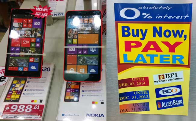 Nokia Store Lumia 1520