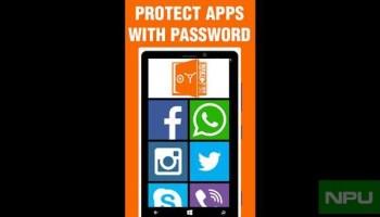 app locks for windows phone