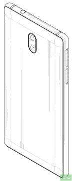 Nokia 3 patented design 2