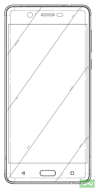 Nokia 5 patented design 3