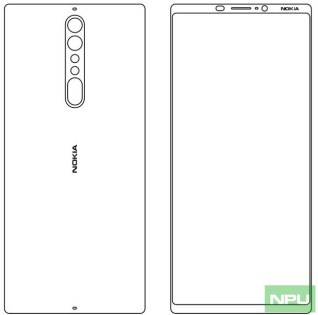 Nokia 9 Design Skecth