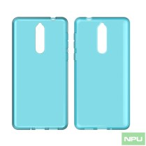 Nokia 9 Transparent-case Blue