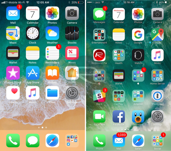 Best / Top free Android launchers with iOS look in 2020. Download links