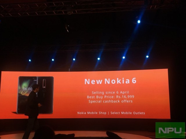New Nokia 6 (2018) price in India, pre-order/Release date