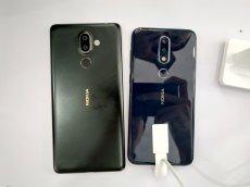 Nokia X6 vs 7 Plus size comparison 2