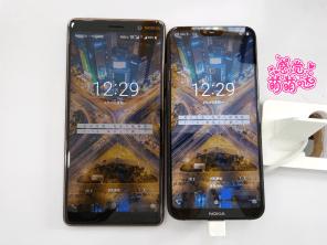 Nokia X6 vs 7 Plus size comparison