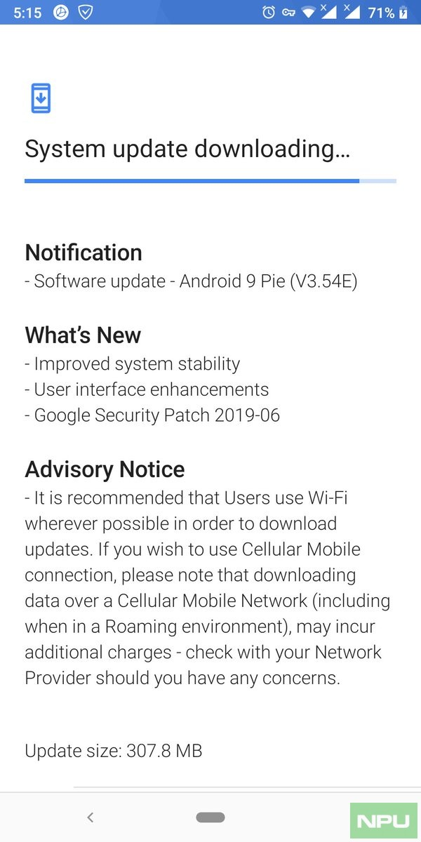 List of markets] Nokia 7 Plus receiving new Pie build with