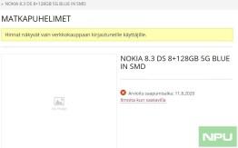 Nokia 8.3 5G release date