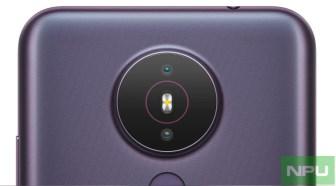 Nokia 1.4 rear Camera