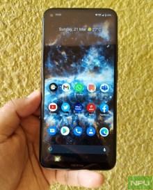 Nokia 5.4 frontal image