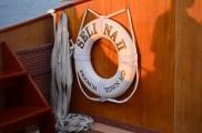 Sailing aboard the beautiful Selina II.