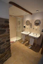 The sinks and shower of Thorncombe
