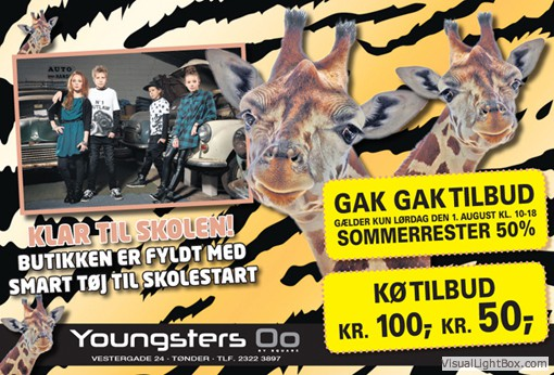 Youngsters annonce