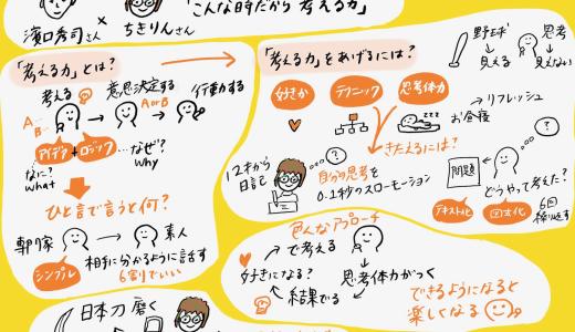 「こんな時だから考える力」濱口秀司さん☓ちきりんさんの対談