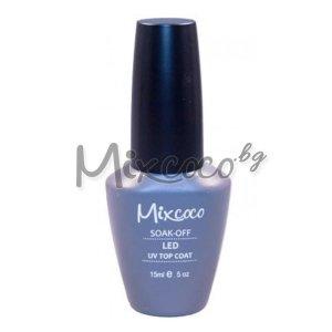 UV иLED топ гел с блясък Mixcoco