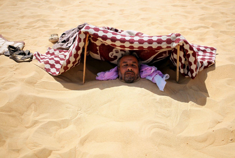 Nincs hova menekülni a hőség elől (képünk illusztráció)