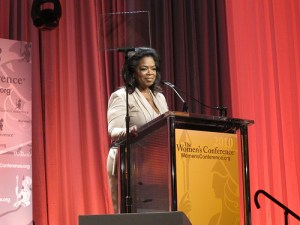 Oprah at Women's conference