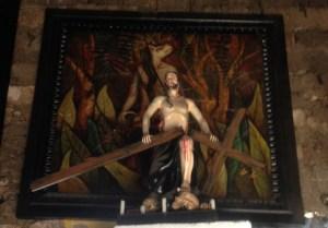 Jesus Breaking Cross